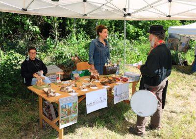 Stand Myco du Jorat et Union des sociétés vaudoise de mycologie