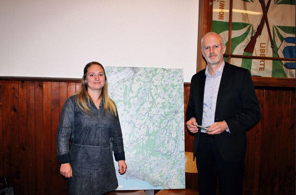 Le Courrier : «Les Rossignols* appelés à dessiner le Parc naturel périurbain du Jorat (PNP)»