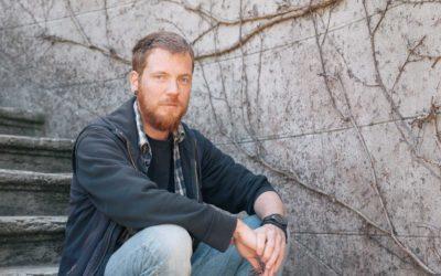 Yann Laubscher, habitant de Lausanne et animateur du parc naturel