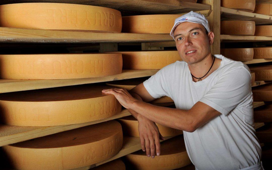 René Pernet, Maître-fromager de la Fromagerie du Haut-Jorat