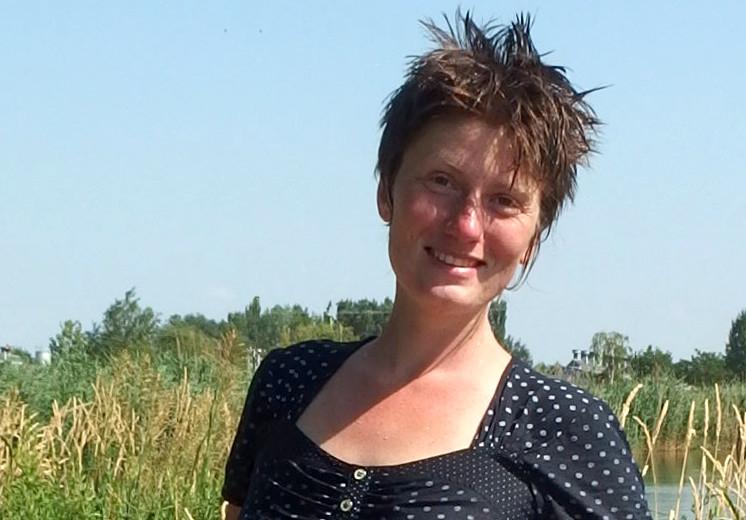 Elise Grandjean, animatrice du parc naturel