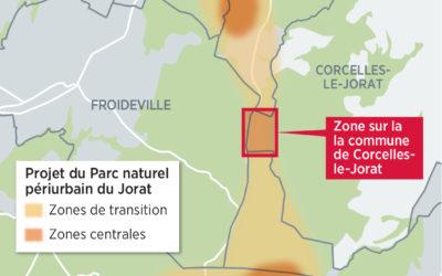 24 heures : «Corcelles-le-Jorat gifle le projet de parc naturel»