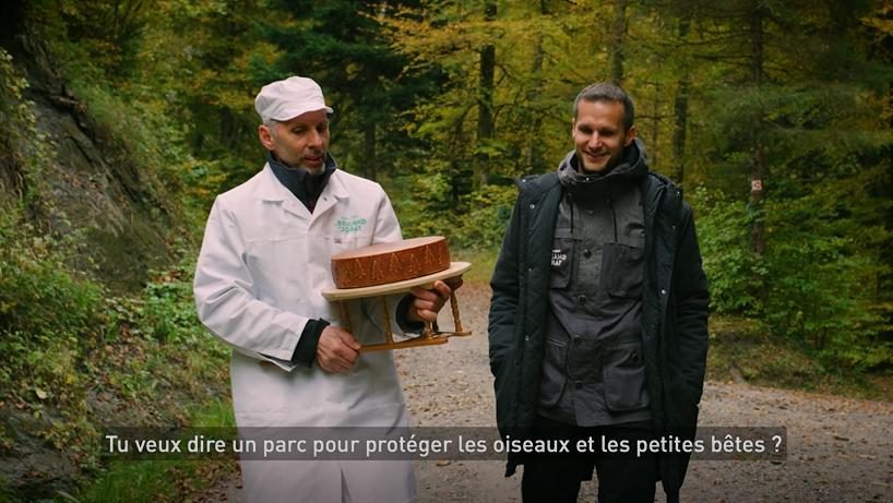 Renaud Freymond et Muhamet Lekiqi, Fromagerie de St-Cierges